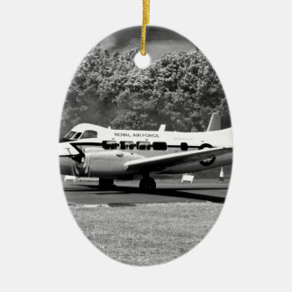 DH104 Devon aircraft Ceramic Oval Decoration
