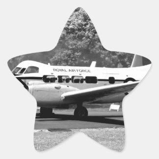 DH104 Devon aircraft Star Sticker