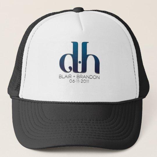 DH Monogramh Trucker Cap