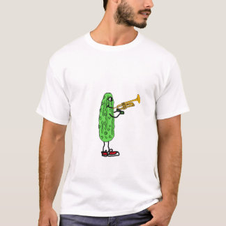 DH- Pickle Playing the Trumpet T-shirt