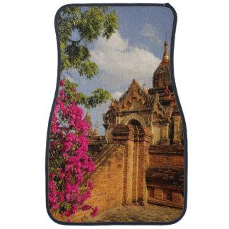 Dhamma Yazaka Pagoda at Bagan (Pagan), Myanmar Car Mat