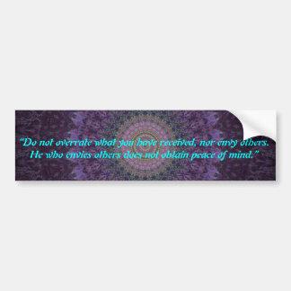 Dharma Bumper Sticker