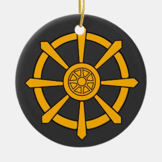 Dharma Wheel Christmas Ornament