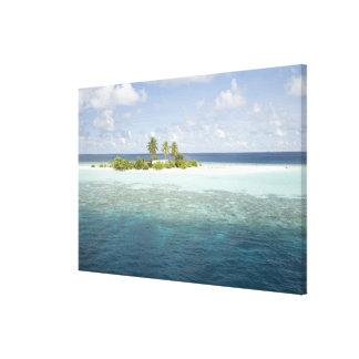 Dhiggiri Island, South Ari Atoll, The Maldives, Canvas Print