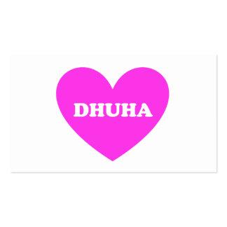 Dhuha Business Card