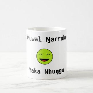 Dhuwal ŋarraku, yaka nhuŋgu coffee mug