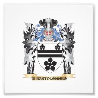Di-Bartolommeo Coat of Arms - Family Crest Photo Art
