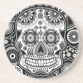 Dia De Los Muertes Sugar Skull Coasters
