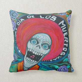 Dia De Los Muertos American MoJo Pillow Cushions