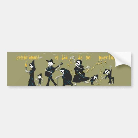 Dia De Los Muertos - Bumper Sticker