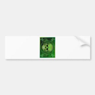 dia de los muertos bumper stickers