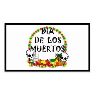 Dia De Los Muertos Pack Of Standard Business Cards