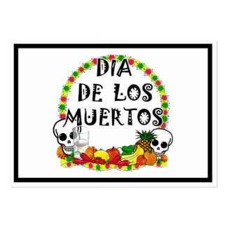 Dia De Los Muertos Pack Of Chubby Business Cards