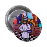 Dia de los Muertos Chef Pins