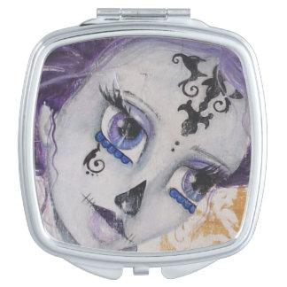 Dia De Los Muertos Compact Mirror