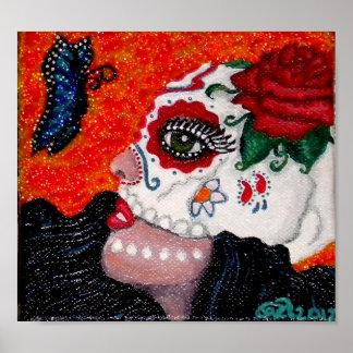 Dia de los Muertos/Day of the Dead Original Design Poster