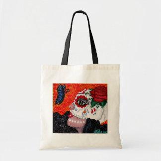 Dia de los Muertos/Day of the Dead Original Design Tote Bag