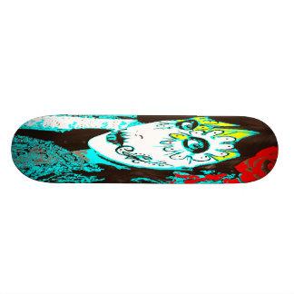 Dia de los Muertos Face # 1 21.6 Cm Old School Skateboard Deck
