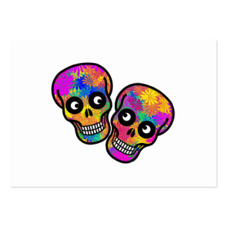 Dia De Los Muertos - Happy Couple Pack Of Chubby Business Cards