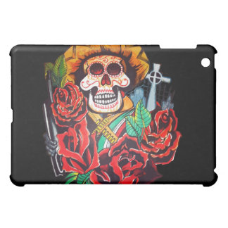 dia de los muertos iPad mini case