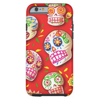 Dia De Los Muertos iPhone 6 case Tough iPhone 6 Case