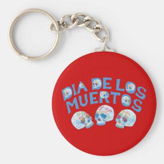 Dia de los Muertos Key Ring
