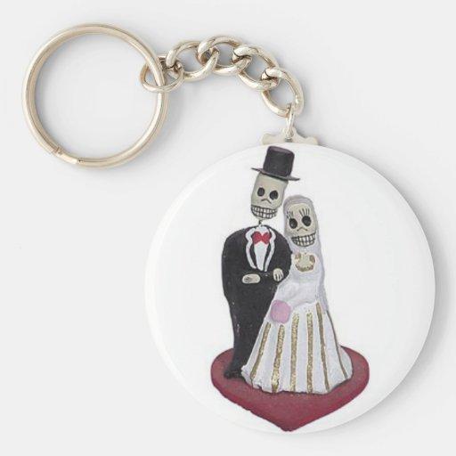 Dia de los Muertos Keychain