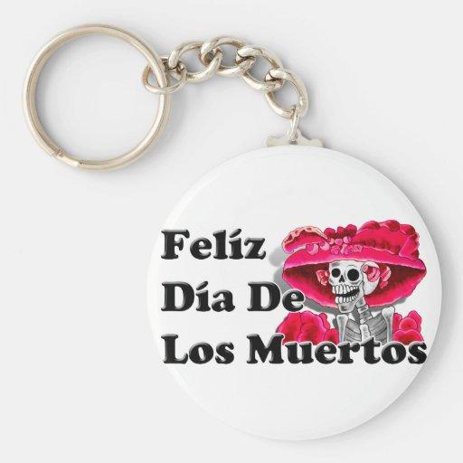 Dia De Los Muertos (La Catrina) Key Chain