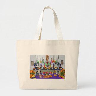Dia de los Muertos Large Tote Bag