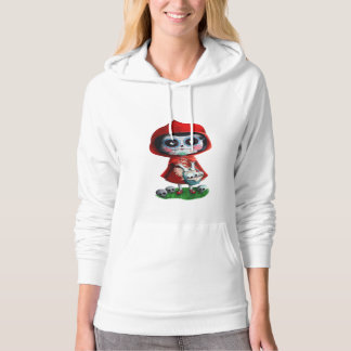 Dia de los Muertos Little Red Riding Hood Hoodie