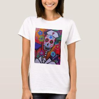 Dia de los Muertos Nurse Shirt