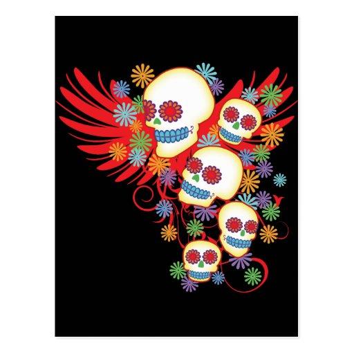 Dia de los Muertos Postcards
