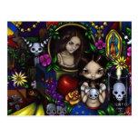 """""""Dia de los Muertos"""" Postcard"""