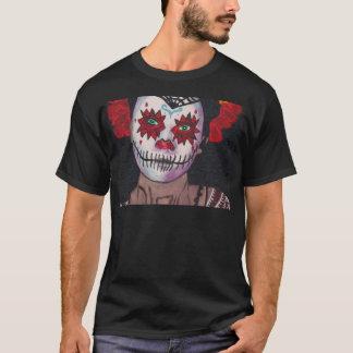 Dia De Los Muertos Red Lady T-Shirt