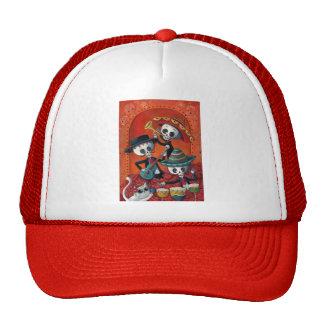 Dia de Los Muertos Skeleton Mariachi Trio Trucker Hat
