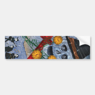 Dia De Los Muertos Sticker Bumper Stickers