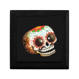 Dia de Los Muertos Sugar Skull Art Gift Box