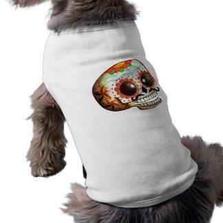 Dia de Los Muertos Sugar Skull Art Shirt