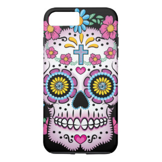 Dia de los Muertos Sugar Skull iPhone 8 Plus/7 Plus Case