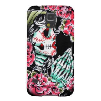 Dia De Los Muertos Sugar Skull Tattoo Flash Galaxy S5 Case