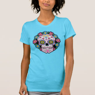Dia de los Muertos Sugar Skull T-shirts