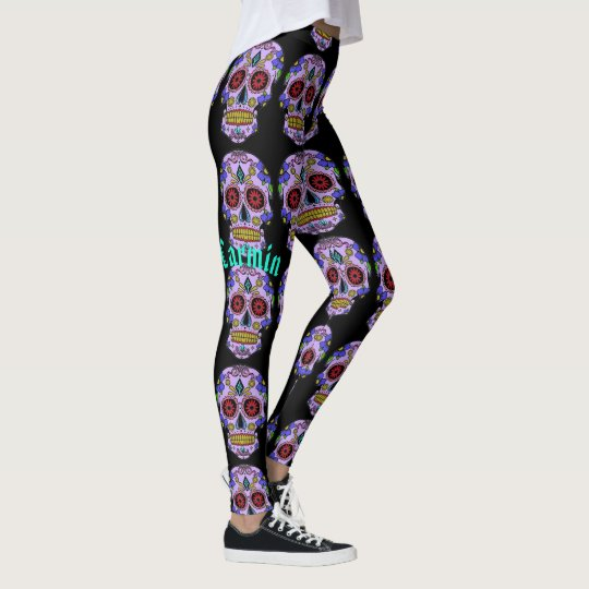 Dia De Los Muertos Sugar Skull Workout Wear