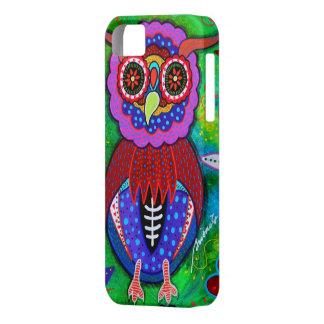 Dia de los Muertos talavera Wise Owl iPhone 5 Covers