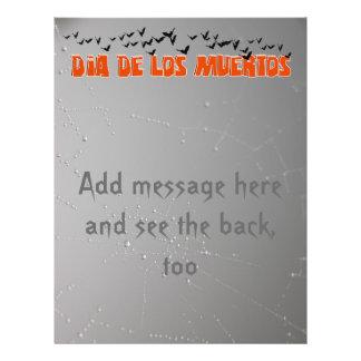 DIA DE LOS MUERTOS Text Design Flyer