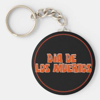 DIA DE LOS MUERTOS Text Design Key Chains