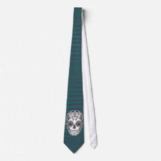 Dia de los Muertos That Girl Skull Tie