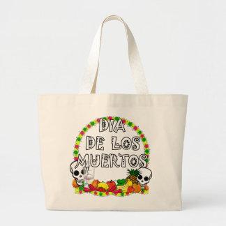 Dia De Los Muertos Jumbo Tote Bag