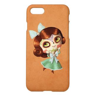 Dia de Los Muertos Vintage Doll iPhone 8/7 Case