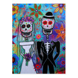 DIA DE LOS MUERTOS WEDDING POSTCARDS
