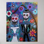 DIA DE LOS MUERTOS WEDDING PRINT
